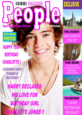 £2.99 • Buy HARRY STYLES MAGAZINE STYLES A5 Personalised Birthday Card!! GREAT !!!!!