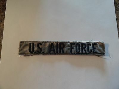 $2.29 • Buy Military Patch Us Air Force Name Tape Sew On For Acus Older Digital Combat Used