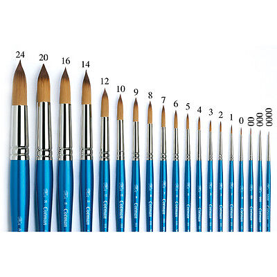 Winsor & Newton Artists Cotman Series 111 Round Single Brushes For Watercolour • 41.13£