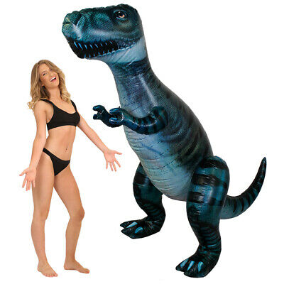 Giant Inflatable Dinosaur T-rex Novelty Pre Historic Party Toy Fancy Dress • 19.99£