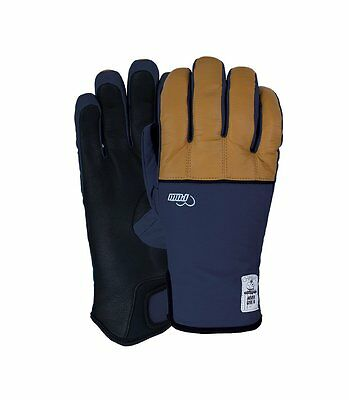 $39 • Buy 2016 NWT WOMENS POW CHASE GLOVE $65 Natural Navy Black