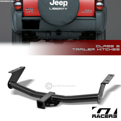 $121 • Buy Class 3 Trailer Hitch Receiver Rear Bumper Towing 2  For 2002-2007 Jeep Liberty
