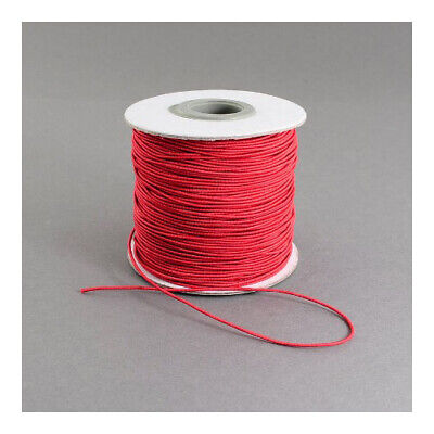$ CDN5.31 • Buy Elastic String Cord Red 10M Continuous Length 1mm Thick