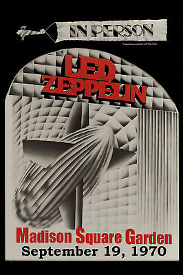 $19.20 • Buy  Led Zeppelin At The  MSG New York Concert Poster 1970   Large Format 24x36