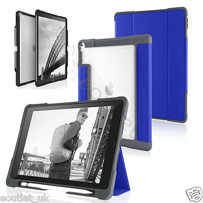 STM Bags Dux Tough Rugged Case/Cover For IPad Pro 9.7 Inch And 12.9 Inch NEW • 44.99£