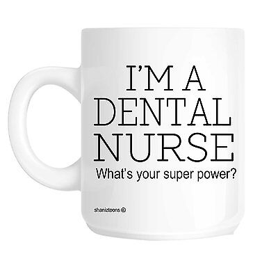 Dental Nurse Funny Gift Mug Shan359 • 9.72£