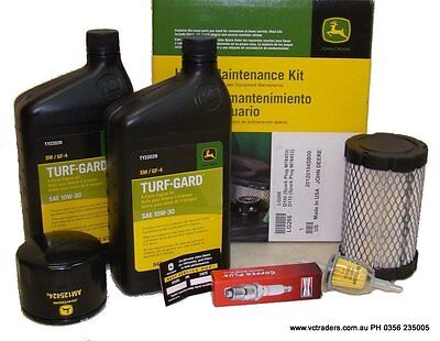 AU90 • Buy John Deere Ride On Mower Home Maintenance Kit - LG266.  Suit E100 D100 D110 D105
