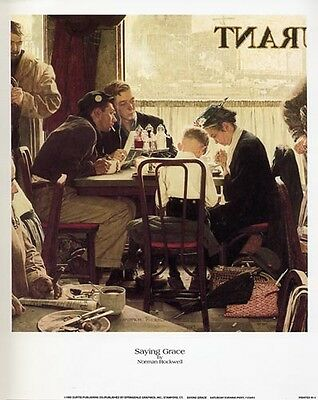$ CDN16.28 • Buy Norman Rockwell Saturday Evening Post SAYING GRACE
