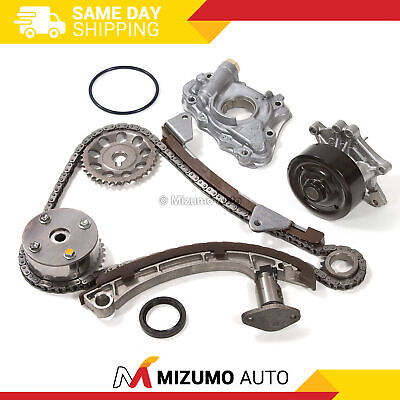 $119 • Buy Timing Chain Kit Oil Water Pump VVT Gear Fit 00-08 Toyota Chevrolet Pontiac 1.8