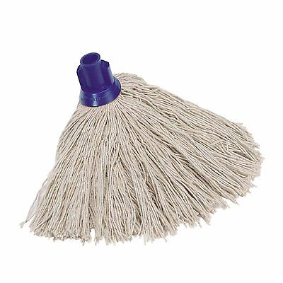 £3.99 • Buy Blue Exel Socket Mop Head  - 200gm 16PY - Pure Cotton Yarn - CHSA Approved