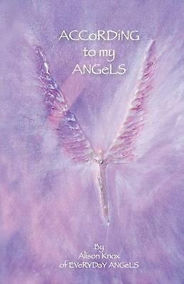 $ CDN34.12 • Buy According To My Angels By Alison Knox (English) Paperback Book Free Shipping!