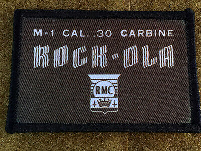 $7.49 • Buy Rockola M1 Carbine Patch Tactical Military Army Badge Hook Flag USA