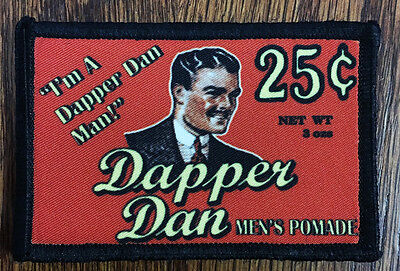 $7.99 • Buy Dapper Dan Pomade Morale Patch Tactical Military Army Badge Hook Flag