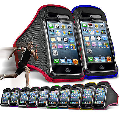 Quality Gym Running Sports Workout Armband Exercise Phone Case Cover✔Huawei • 4.95£