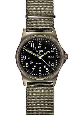 $ CDN121.75 • Buy Official MWC G10 LM 12/24 Hour NATO Dial Stainless Steel Military Watch