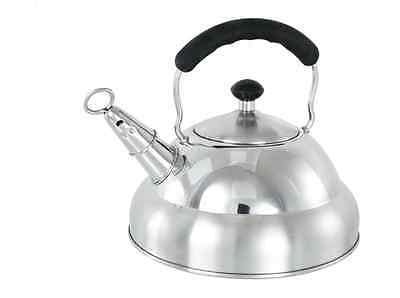 £19.99 • Buy New Stove Top Induction Whistling Kettle 3 Litre Stainless Steel Matt Finish