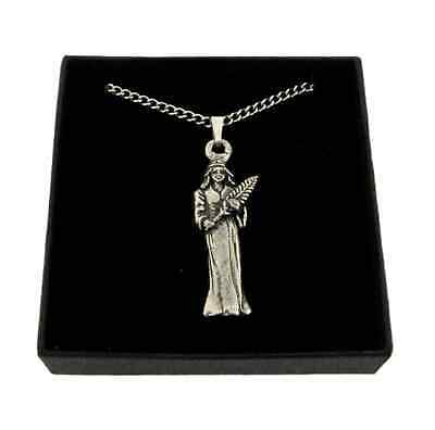 Star Sign - Virgo Pendant Handcrafted In Solid Pewter In The UK + Free GiftBox • 8.99£