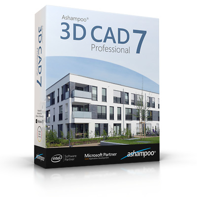Ashampoo® 3D CAD Professional 7 ,Design 3D Views Construction Furnishing Creator • 85.84£