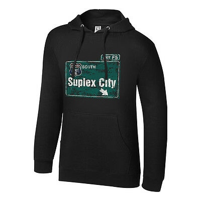 Wwe Brock Lesnar Suplex City Pullover Hoodie Sweatshirt All Sizes Official New • 39.99£