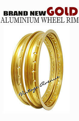 AU154.75 • Buy Kawasaki Kdx200 A1/a2/a3 1983 1984 1985 Aluminium (gold) Wheel Rim Front & Rear
