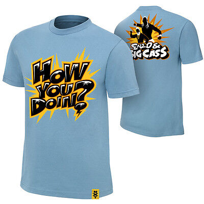 Wwe Enzo & Big Cass How You Doin? Youth T-shirt Kids Official New • 9.99£