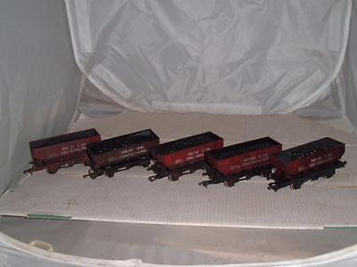Dapol ? 'oo' Gauge Wagons 5 'house Coal Concentration Oo Gauge Vintage See Pics • 55.50£