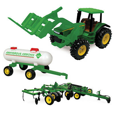 AU37.04 • Buy NEW John Deere 8530 Tractor Toy W/ Implements - (TBE15814)