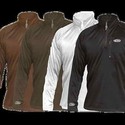 8ef24388d62b1 Drake Waterfowl Systems BreathLite 1/4 Zip Pullover Jacket DW2040 All  Colors • 29.99$