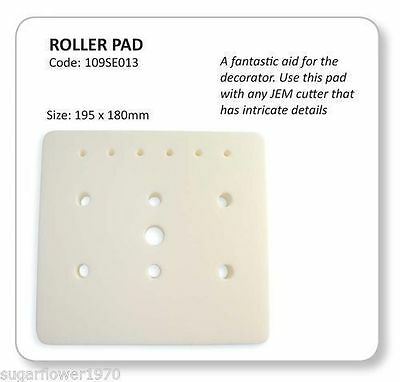 Jem Roller Pad Foam Pad For Sugarcraft Flowers Cutters  NEXT DAY DESPATCH • 5.70£