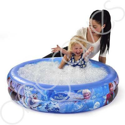 £14.99 • Buy Disney Frozen Bubble Tub Paddling Pool Gift BBQ Fun Outdoor Childrens Toy