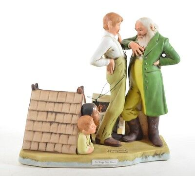 $ CDN20.69 • Buy Norman Rockwell NO KINGS NOR DUKES Porcelain Figurine Dave Grossman  1981 NEW