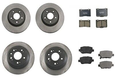 $184.95 • Buy Acura RL 2005-2011 Front Brake Rotors Original Performance Pads Bosch