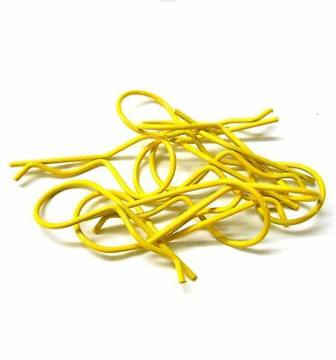 1/10 1/8 Nitro Buggy RC Yellow 30mm Long Body Cover Post R Clips Pin Shell • 2.38£