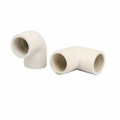 £4.25 • Buy 20mm PVC-U 90 Degree Elbow Water Pipe Fittings Tube Joints Connectors 2pcs