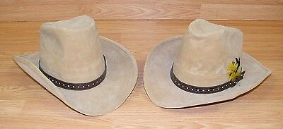 c675dfb6 Bailey U-Rollit Tan Suede Mens Cowboy Hat W/ Brown Belt Band - Sizes