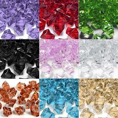 £1.75 • Buy Crystal Acrylic Ice Chunks Vase Fillers Table Scatters Decorations