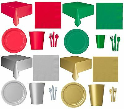 £2.75 • Buy CHRISTMAS XMAS PARTY TABLEWARE - Plates/Cups/Napkins/Tablecovers/Bags/Balloons