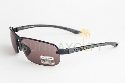 $175 • Buy Serengeti Strato Satin Black / Polarized Phd Sedona Sunglasses 7681