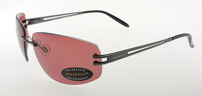 $149.50 • Buy Serengeti Roggia Satin Gun Black / Sedona Polarmax Sunglasses 7079