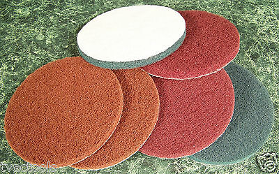 $ CDN12.75 • Buy 6pc 5  Inch Hook And Loop SURFACE CONDITIONING SANDING / CLEANING DISCS Big Disc