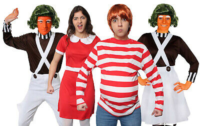 £21.99 • Buy Adults Chocolate Factory Costumes Workers Book Day Film Character Fancy Dress