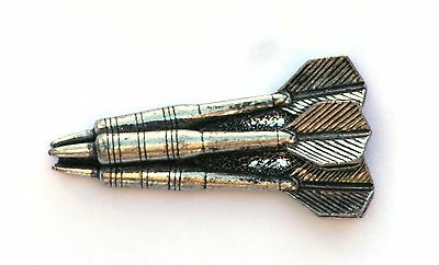 Darts Triple Pin Badge Pewter Gift Pouch 99 • 5.99£