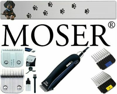 £121.63 • Buy Moser Max 45 Clipper + Shaving Heads 1 MM + 7 MM Stainless Steel 10,16MM