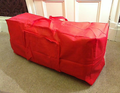Red Christmas Artificial Tree Storage Bag - Xmas Tree Bag • 10.29£