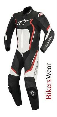 $718.62 • Buy New Alpinestars Motegi V2 Leather 1PC One Piece Motorcycle Race Suit Red