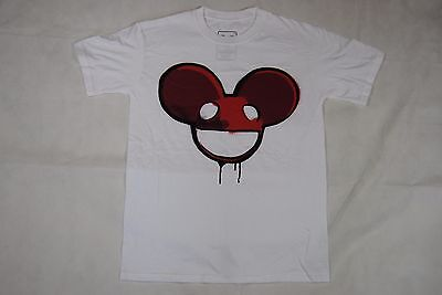 £7.99 • Buy Deadmau5 Red Stencil T Shirt New Official House Music Producer Dj 4x4=12 Techno