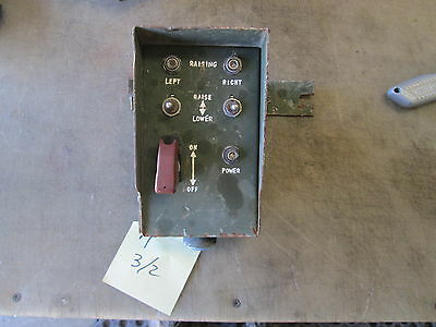 $25 • Buy Used Stabilizer Leg Electronic Control, For Parts, Military Vehicle Part