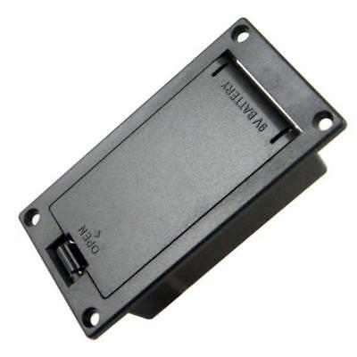 £3.26 • Buy 1pc Black Guitar Bass Battery Holder Cover Box 9Volt Compartment Accessory