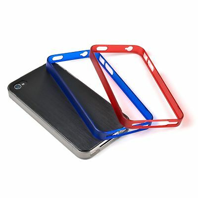 £4.85 • Buy Incipio Trilogy Bumpers For IPhone 4/4S (Pack Of 3) - Black/Red/Blue