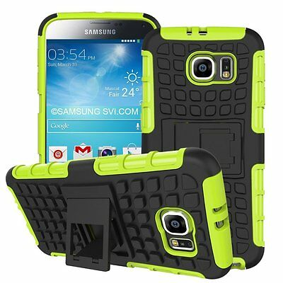 AU7.05 • Buy Shockproof Protection Heavy Duty Tough 2 Layer Phone Case Cover+Stand✔Green